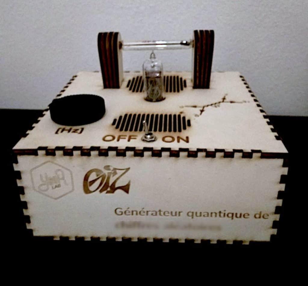 Générateur quantique de chiffres aléatoires