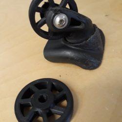 modélisation et impression 3D de roulettes pour valise