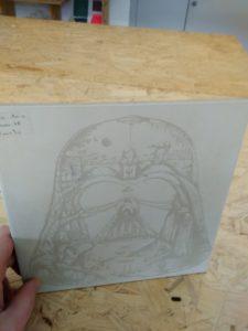 exemple de gravure sur carrelage
